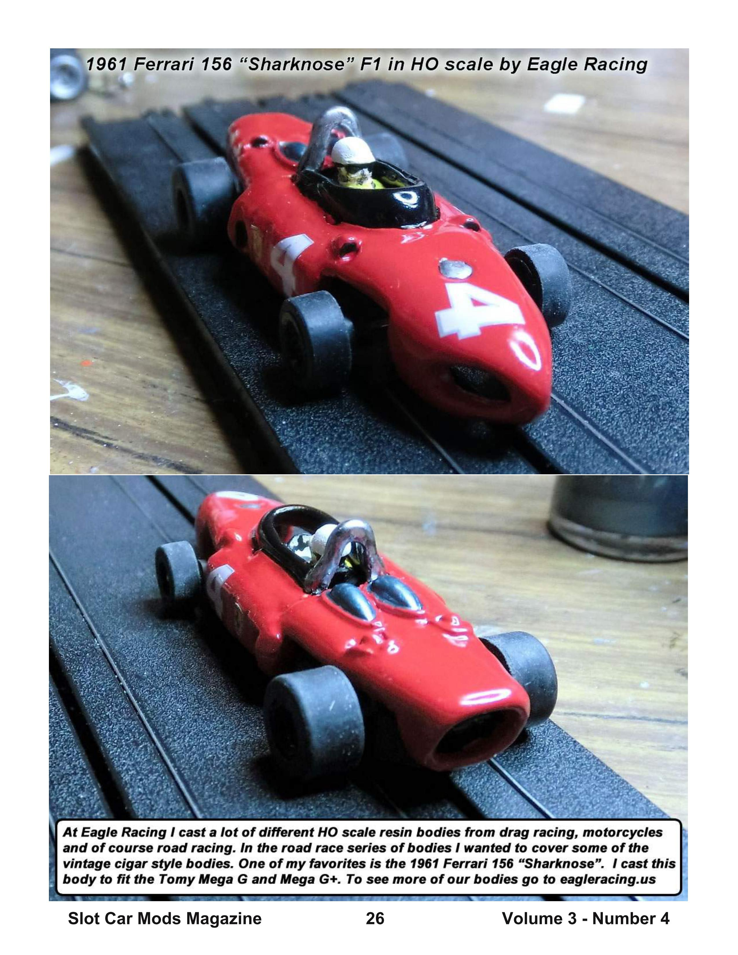 Slot Car Mods Magazine welcomes you